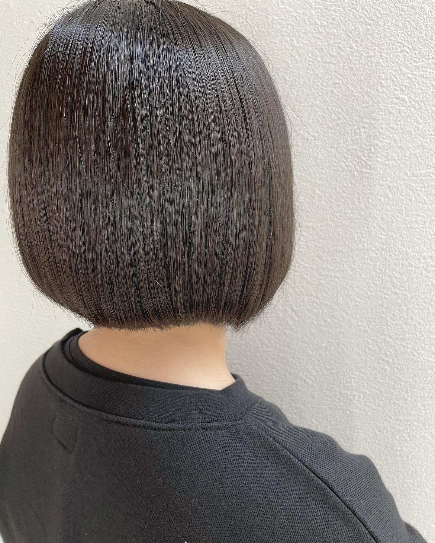黒髪️..#ボブ#切りっぱなし#黒髪#可愛い##️..〠627-0004京丹後市峰山町荒山1220-1︎0772608704close:Wednesday